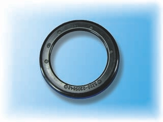 NBR rotary shaft seal without spring
